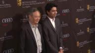 Suraj Sharma Ang Lee at BAFTA Los Angeles Awards Season Tea on 1/12/13 in Los Angeles CA