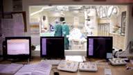 Ärzte bei der Arbeit.  Operating Prozess