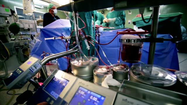Surgery. Cardiopulmonary bypass machine