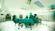 Surgical Team Operating
