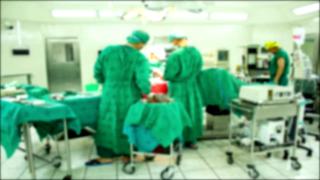 Surgical Team Operating.