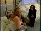 London Carole Horlock daughter Megan towards INT 2 SHOT Carole Horlock interview SOT talks about why she does it Carole Horlock interview SOT Paul...