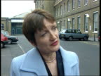 Surrogate mother Surrogate mother ITN Tessa Jowell MP intvw Must look at this case in light of existing legislation then decide whether legislation...