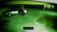 Überwachung-Parkhaus Diebstahl