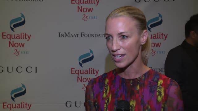 INTERVIEW Susan Chokachi on receiving such an honor and working with Equality Now at 2017 Equality Now Gala at Gotham Hall on October 30 2017 in New...
