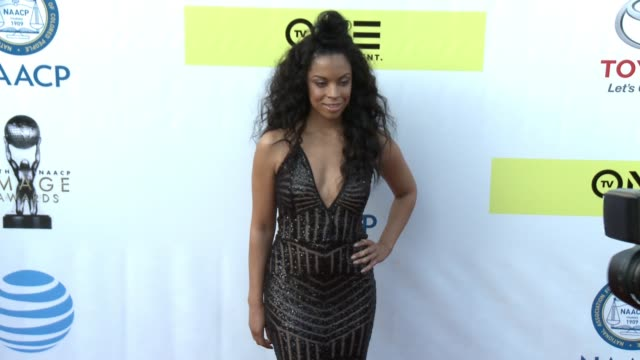Susan Kelechi at 48th NAACP Image Awards at Pasadena Civic Auditorium on February 11 2017 in Pasadena California