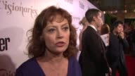 Susan Sarandon on being at the event and on Somalia education at Conde Nast Traveler Celebrates 'The Visionaries' And 25 Years Of Truth In Travel in...