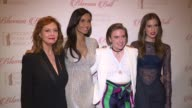 Susan Sarandon Padma Lakshmi Lena Dunhan and Allison Williams at 8th Annual Blossom Ball To Benefit The Endometriosis Foundation Of America at Pier...
