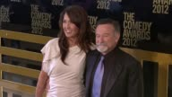 Susan Schneider and Robin Williams at The Comedy Awards 2012 Arrivals on 4/28/2012 in New York NY United States