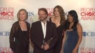 Susan Sullivan Andrew W Marlowe Stana Katic and Penny Johnson on Castle Winning Favorite TV Crime Drama