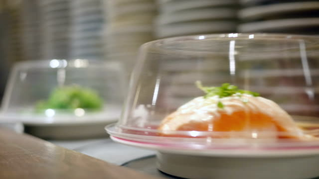 Sushi on Conveyer Belt