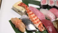 Sushi Restaurant - Tsukiji Market Tokyo, Japan