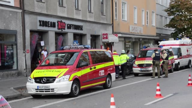 A suspect has been arrested after four people were lightly injured in knife attacks in the southern German city of Munich