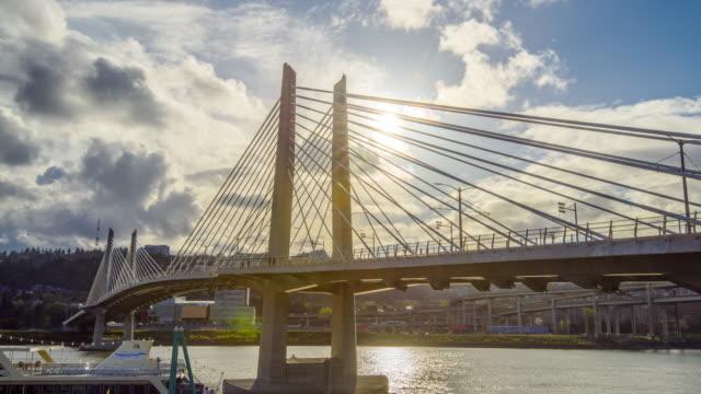 Ponte sospeso di Portland Oregon