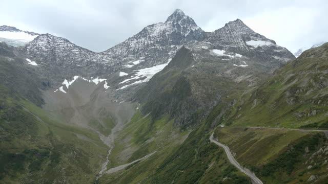 Susten Pass Road, Bernese Alps, Switzerland, Europe