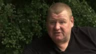 Sutton United goalkeeper banned for eating pie speaks out in first interview Wayne Shaw sitting on bench with ITN Reporter Wayne Shaw interview SOT...