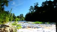 Suwannee River flowing over Big Shoals