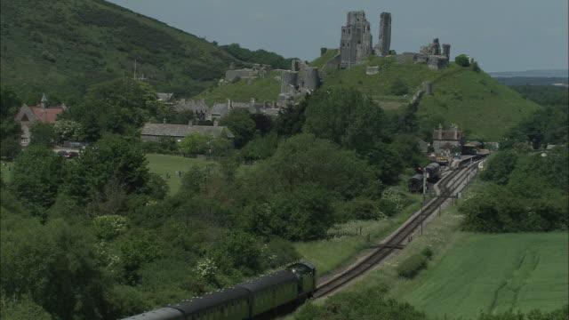 Swanage Railway At Corfe Castle