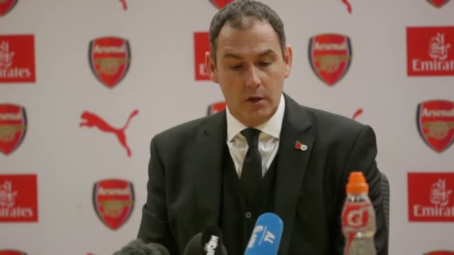 Swansea City manager Paul Clement says his team were worthy of a point and that Arsenal's first goal had a bit of luck to it He said the game would...