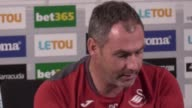 Swansea head coach Paul Clement speaks ahead of the team's Premier League game at Crystal Palace