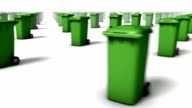 Sweeping across endless Trash Cans front (Green)