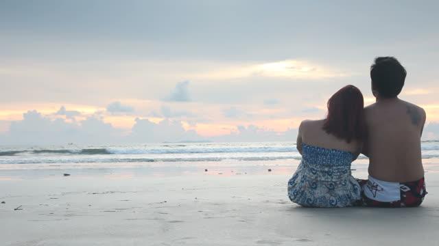 Sweet Couple on the beach
