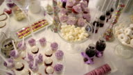 sweets on the table