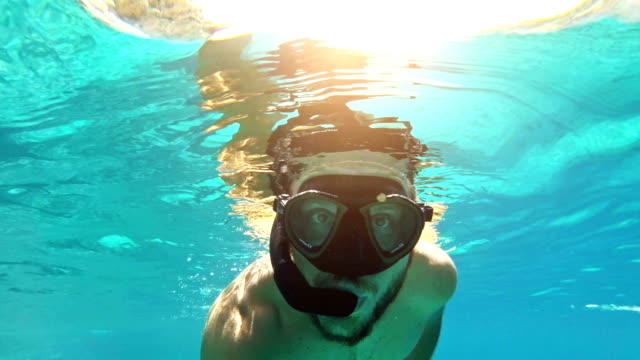 Swimming and snorkeling