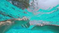 POV: Schwimmen im pool