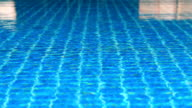 Swimmingpool blue Wasser
