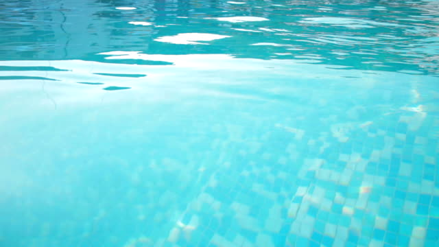 Swimming Pool Water Surface Stock Footage Video | Getty Images