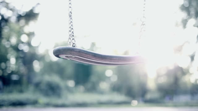 Swing on playground