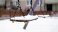 Swinning Swings, Winter, Playground