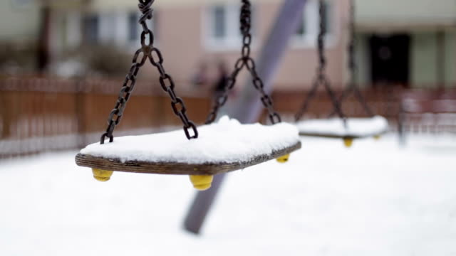 Swinning Swings, Winter, Playground