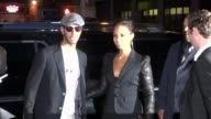 Swizz Beats and Alicia Keys at the Five Premiere in New York 9/26/11
