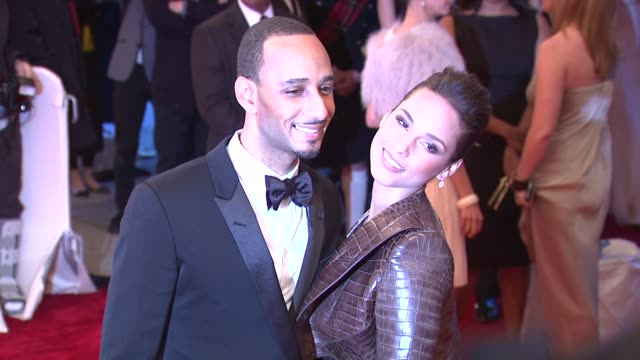 Swizz Beatz and Alicia Keys at the 'Alexander McQueen Savage Beauty' Costume Institute Gala At The Metropolitan Museum Of Art at New York NY