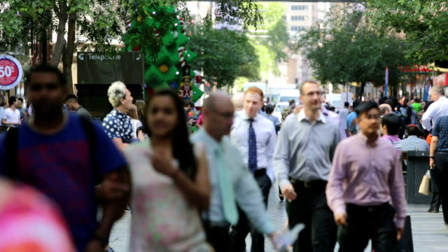 Sydney Christmas Crowds