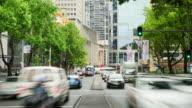 TIME LAPSE: Sydney Elizabeth Street traffic