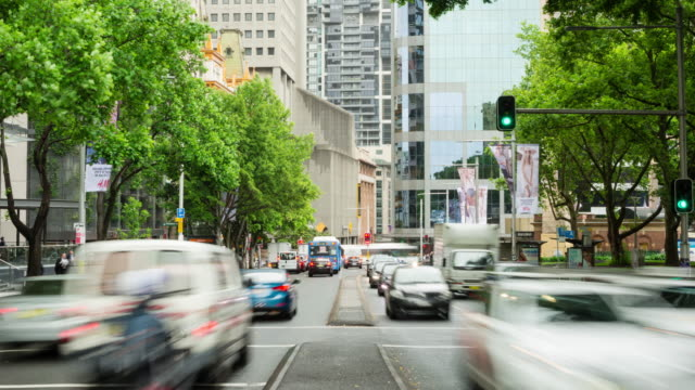 TIME LAPSE: Sydney Elizabeth Street traffic