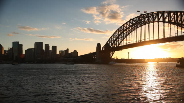 Sydney Harbour Bridge and Skyline