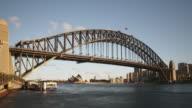 Sydney Harbour Bridge HD Timelapse. Australia