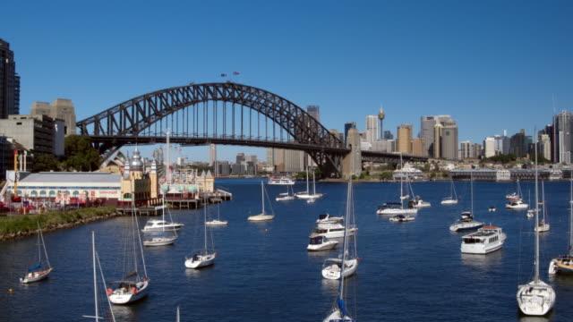 Sydney Harbour Bridge, Luna Park, Sydney, New South Wales, Australia