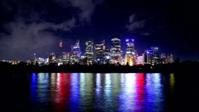 Sydney Skyline at Night