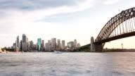 TIME LAPSE: Sydney skyline sunset moments