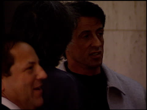 Sylvester Stallone at the 'Fifteen Minutes' Premiere on March 1 2001