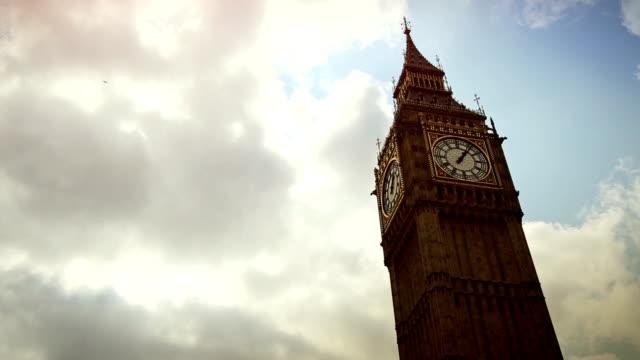 Symbol of London: the Big Ben timelapse