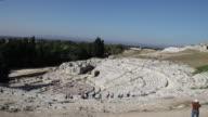 Syracuse, Archaeological Park, the Greek theater, 3rd century B.C.