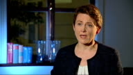 Nick Clegg announces plans to admit the 'most vulnerable' Syrian refugees Yvette Cooper reaction ENGLAND London INT Yvette Cooper MP interview SOT...