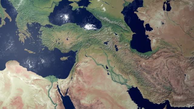 Siria visualizzato dopo terra zoom (con di metallina di alfa)