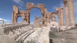 Palmyra After Recapture By Syrian Troops